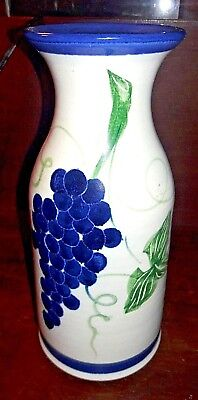 Stoneplex Pottery of Boring, OR - Hand Crafted Studio Stoneware Vase - Signed AS