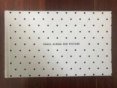 "Kate Spade It All Just Clicked 4"" x 6"" Photo Album Polka Dots Holds 80 Pics"
