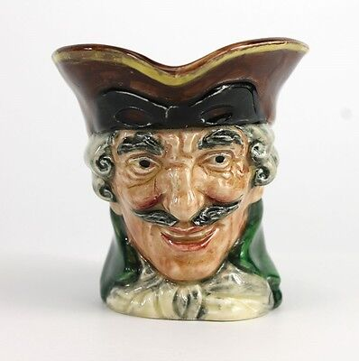 VINTAGE Royal Doulton Dick Turpin D5618 Collectable Character Toby Jug Fabulous