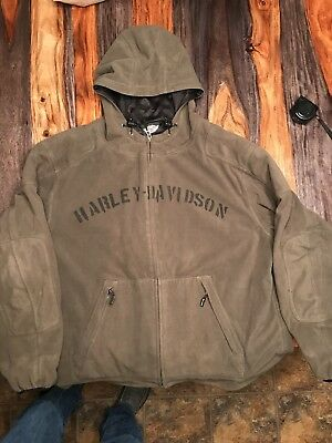 XXL Harley Davidson Hooded Riding Jacket