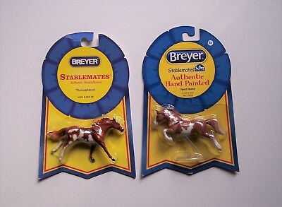 Retired (2) Matching Pinto Stablemates ~ Sport Horse (Jumper) & Thoroughbred