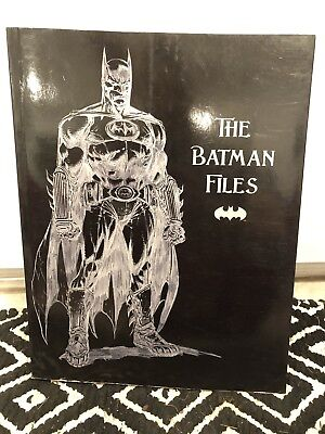The Batman Files Soft Cover DC Comics Book