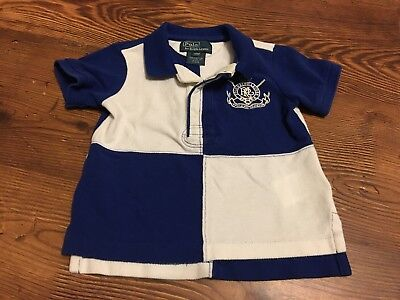 Polo By Ralph Lauren 12 Month Collared Polo Shirt