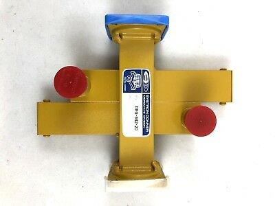 SYSTRON DONNER DBG-642-20 WR90 Crossguide Directional Coupler, 20dB