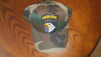 Babe Heffron autographed Baseball Hat Band of Brothers