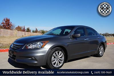 2012 Honda Accord EX-L VERY NICE ONLY 51K MILES LEATHER AUTO 469-300-9669