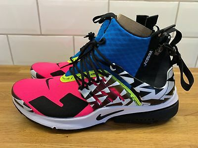best loved 297b4 4d363 Mens Nike x Acronym Air Presto Mid Cotton Candy Racer Pink AH7832-600 (size