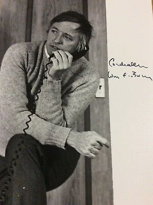 William Buckley Signed Photo Conservative Author