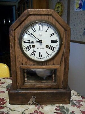 Vintage Seth Thomas  Country Cottage  3 Chime  Mantle Clock            USA