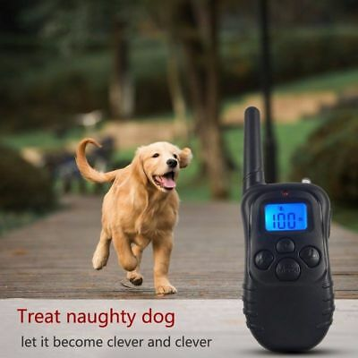 Petrainer LCD Rechargeable Electric Dog Training Collar With Remote Shock Collar
