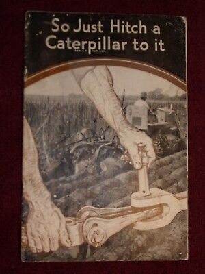 VTG 14Page 19320-30s Caterpillar Tractor Farm Plow Track Brochure Pamphlet Book