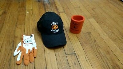 Tito's Handmade Vodka Golf Care Package