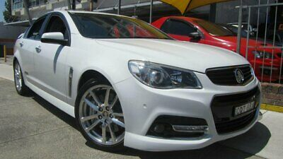 2013 Holden Commodore VF SS-V Redline White Manual 6sp M Sedan