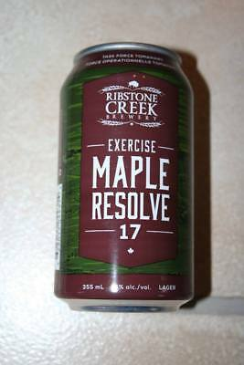 Canadian Army Exercise MAPLE RESOLVE 17 Commemorative can (Empty)