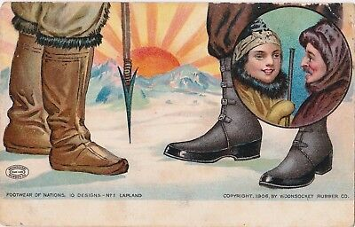 Postcards - Advertising - Woonsocket Rubber Co.