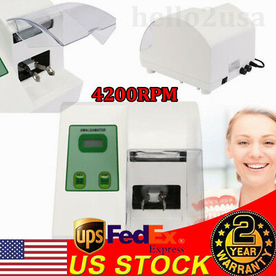 40W Dental High Speed Amalgamator CE HL-AH Amalgamator Amalgam Capsule Mixer US