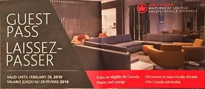 Air Canada Maple Leaf Lounge Pass