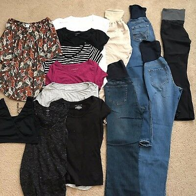 Maternity Lot Motherhood Womens Maternity pants tops dresses See Pictures