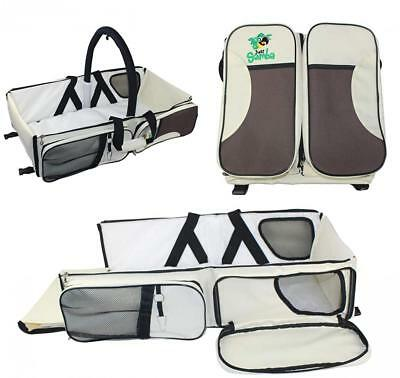 Just Samba Baby Diaper Bag, Portable Bassinet and Travel Changing Station...