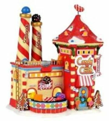 Dept 56 North Pole Series Candy Crush Factory- NIB Free Shipping