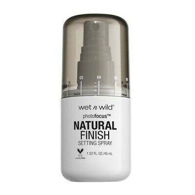 WET N WILD Natural Finish setting spray - Spray fissatore per il trucco E301A