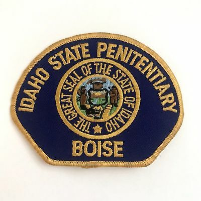 (Rare) Boise Idaho State Penitentiary Corrections Patch Police Sheriff