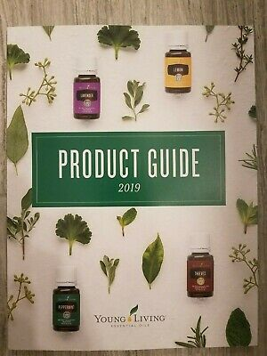 Young Living Essential Oils 2018 Product Guide Catalog  & Product Price List NEW