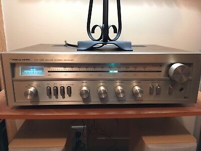 Realistic STA-530 AM/FM Stereo Silver Faced Receiver Radio Shack Tandy