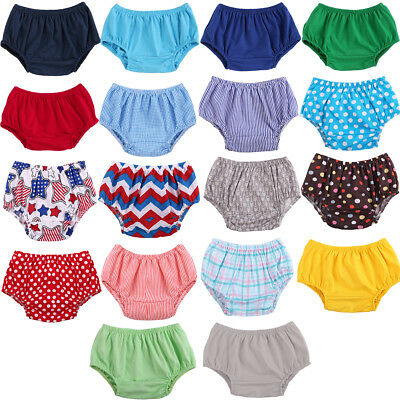 Infant Baby Boy Girl Cotton Shorts Pants Toddlers Nappy Diaper Covers Bloomers