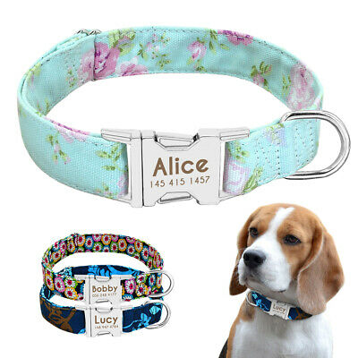 Heavy Duty Dog Collar Tags Personalised Customized Free Engraved ID Name Beagle