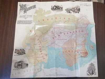 Red Dead Redemption 2 - New Hanover Map - PLAYSTATION 4 PS4