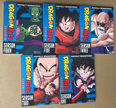 Dragon Ball The Complete Series Seasons 1-5 - 1,2,3,4,5 New 12345 z super