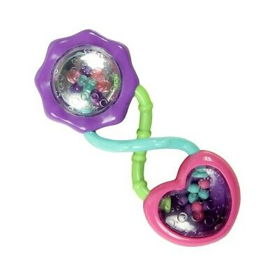 Bright Starts Rattle & Shake Barbell Pink