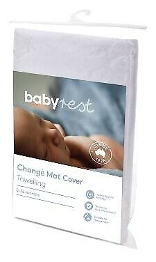 Babyrest Changepad Cover  Childcare White