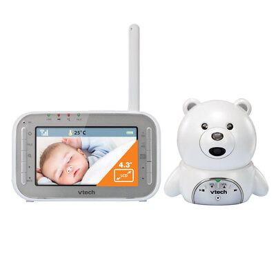 Vtech Monitor Video BM4000 - Bear - White/Silver