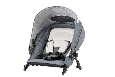 Steelcraft - Strider Compact Deluxe Edition Second Seat - Dark Chambray