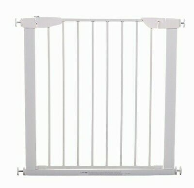 4Baby Safety Gate With 7cm Extension Included - White