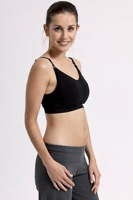 Fertile Mind Superbra Nursing Bra - Black Small/Medium