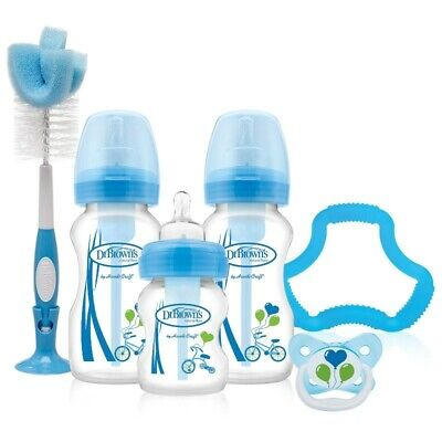 Dr Browns Options Wide Neck Gift Set - Blue