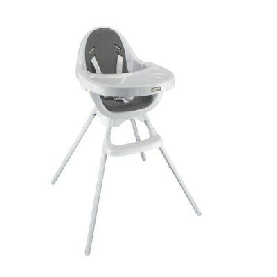 Mothers Choice Egg 3-in-1 High Chair White/Grey