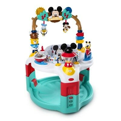 Bright Starts Mickey Mouse Activity Saucer - Camping With Friends