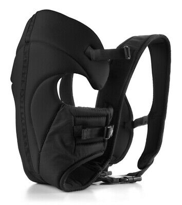 4Baby 3 Way Baby Carrier Black