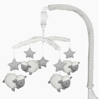 Living Textiles Sheep Musical Mobile Grey