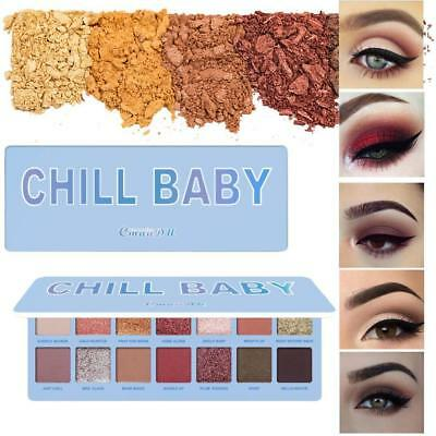 2019 New Makeup Palette 14 Color Waterproof Eye Shadow Baby Chill