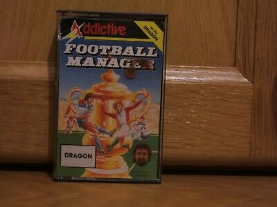 Vintage Dragon 32 Game Football Manager by Addictive