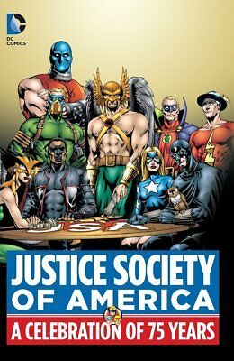 DC Justice Society of America: A Celebration of 75 Years Hard Copy SEALED NEW