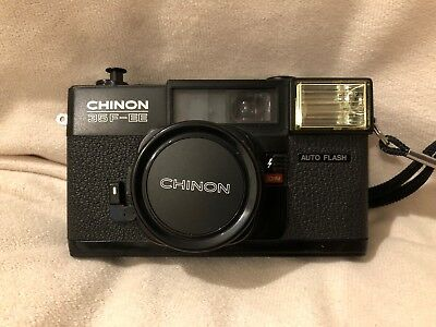 Chinon 35F-EE 35mm Compact Camera.