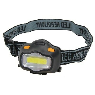 12 COB LED 3 modes Headlight Fishing Camping Hiking Outdoor Head Lamp Torch New