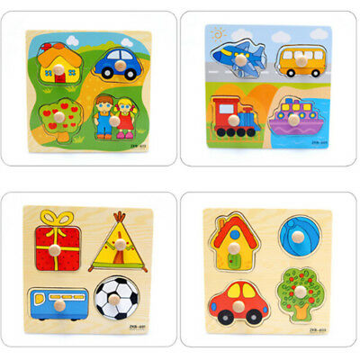 Baby Toys Baby Wooden Puzzle Toys Brick Educational Toy