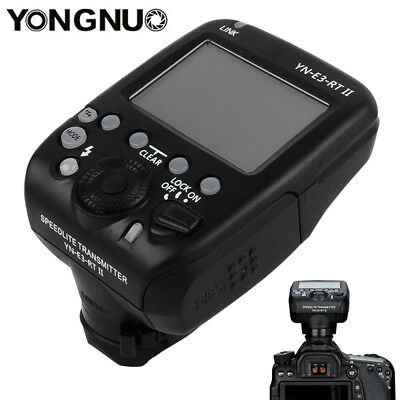 Yongnuo YN-E3-RT II Speedlite Wireless Transmitter for YN600EX-RT Canon 600EX-RT